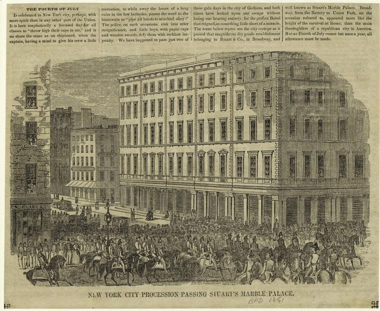 The Sumptuous Story Of Ladies Mile Traces Of Cast Iron