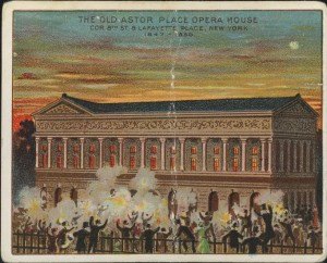 The Old Astor Place Opera House.