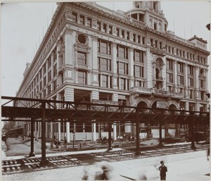 Retail Trade - Dept. Store 1896. Siegel Cooper Co. (Exterior) 6th Ave at 18th St.
