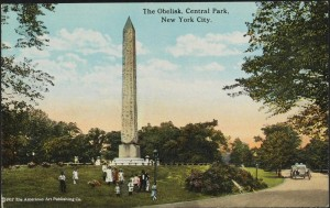The Obelisk, Central Park, New York City.