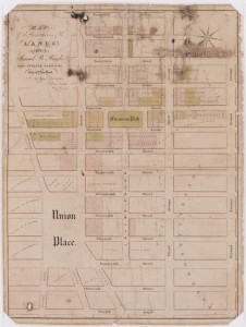 Lands of Samuel B. Ruggles in the Twelth Ward in the City of New York