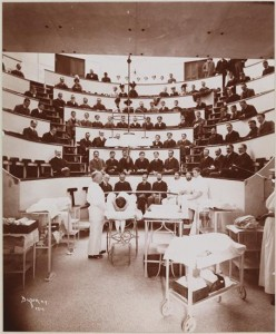 Hospitals, Roosevelt Hospital, Operating Theatre.