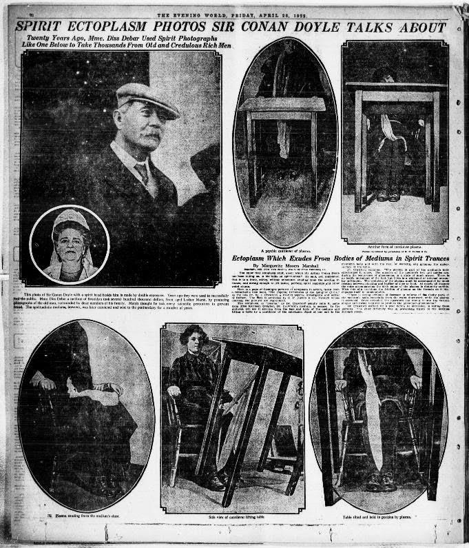 Ghost Bluster: Arthur Conan Doyle and his weird foray into