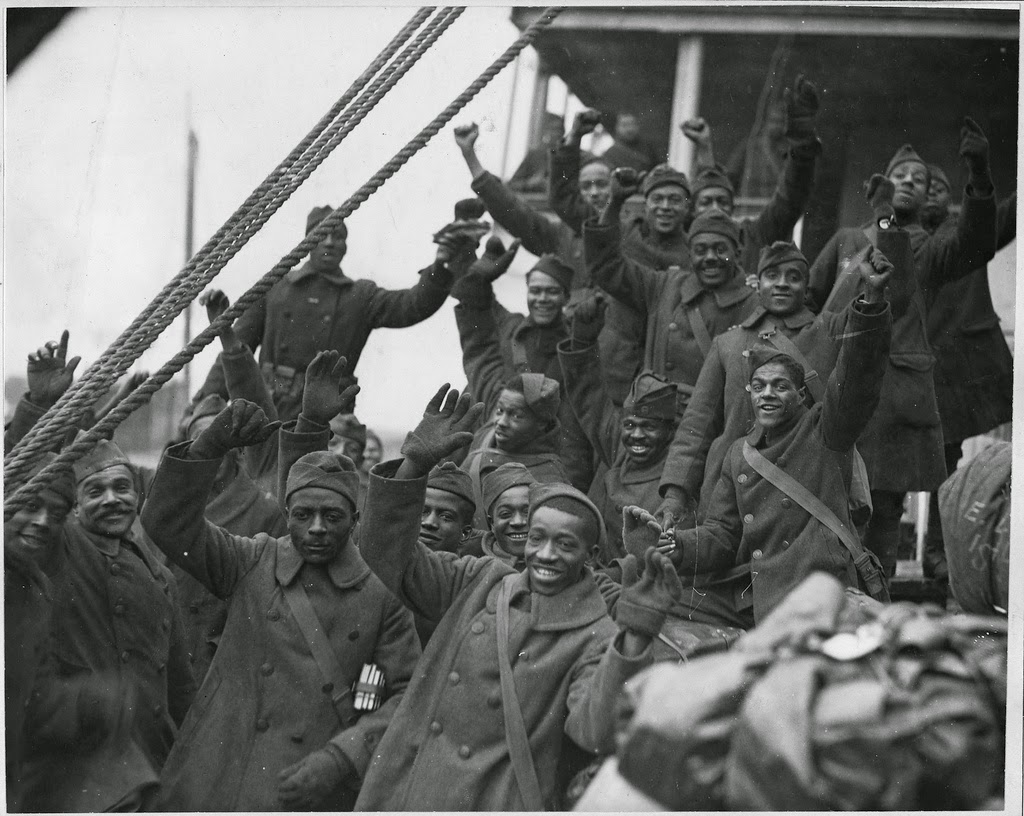 New Lenox Illinois >> On this Veteran's Day, a salute to the Harlem Hellfighters! - The Bowery Boys: New York City History