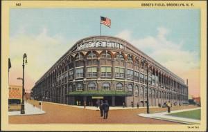 Ebbets Field, Brooklyn, N. Y.