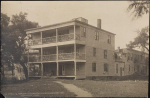 [First hotel at Coney Island, Oceanic Hotel.]